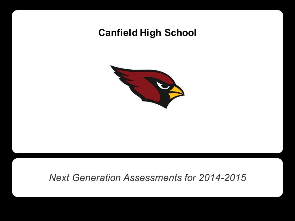 Canfield High School Next Generation Assessments for