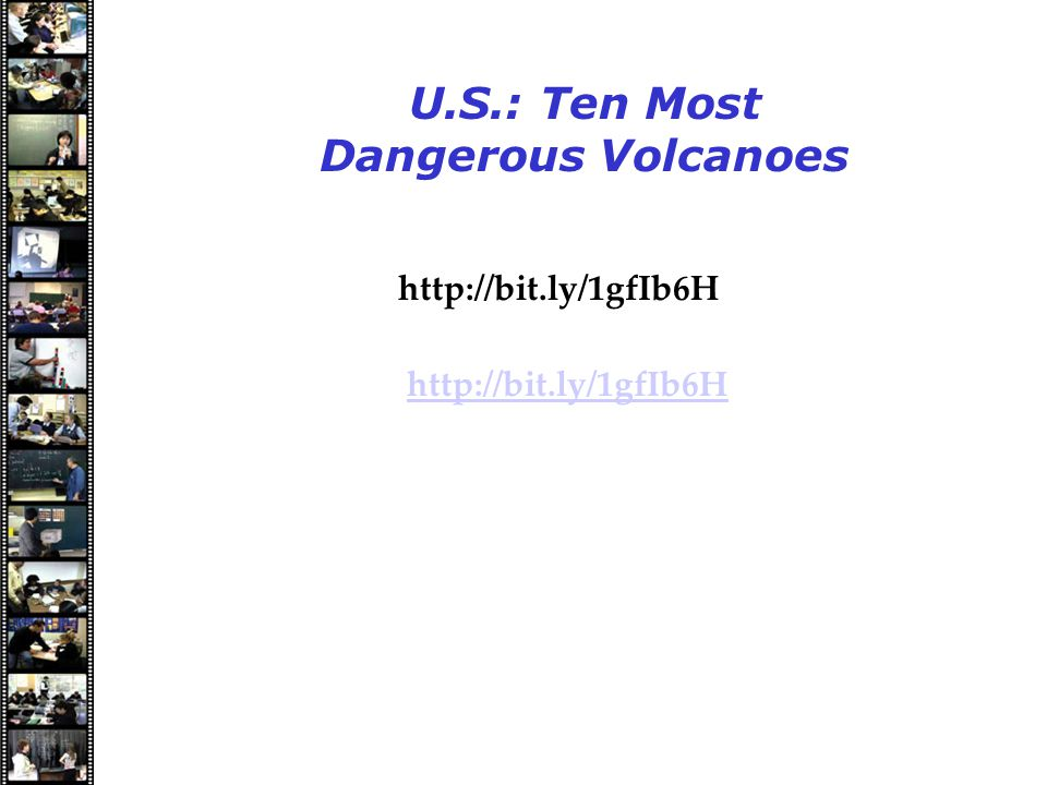 Speakers U.S.: Ten Most Dangerous Volcanoes http://bit.ly/1gfIb6H