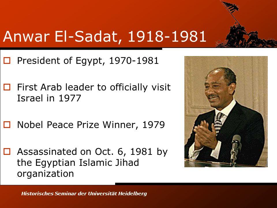 Image result for egypt's anwar sadat becomes first arab leader to visit israel