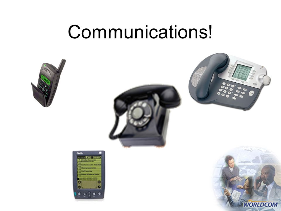 Communications!