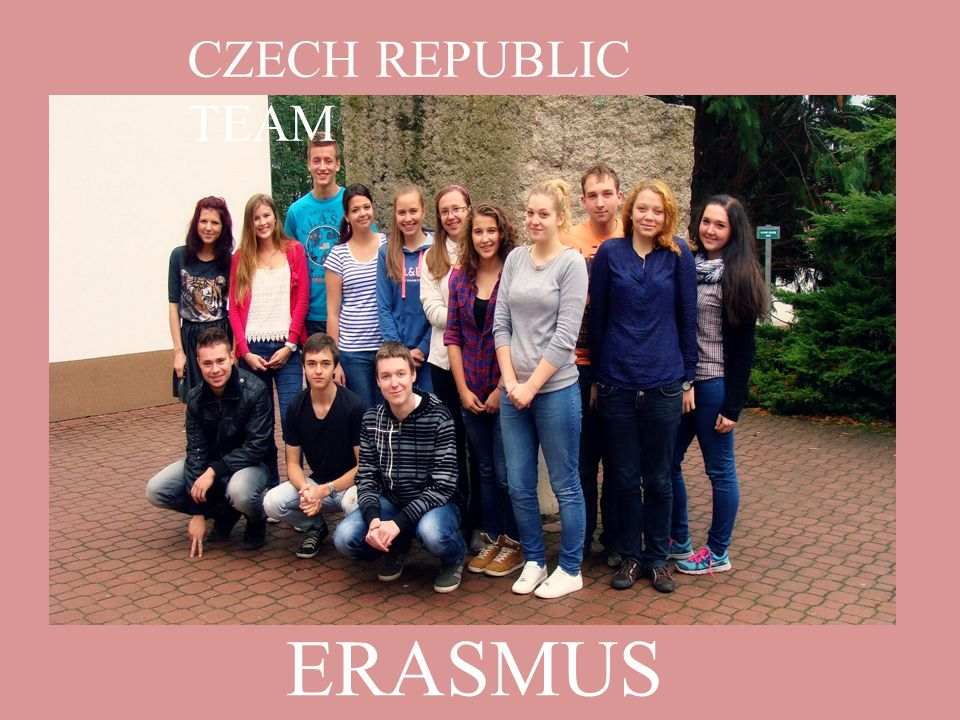 ERASMUS + CZECH REPUBLIC TEAM