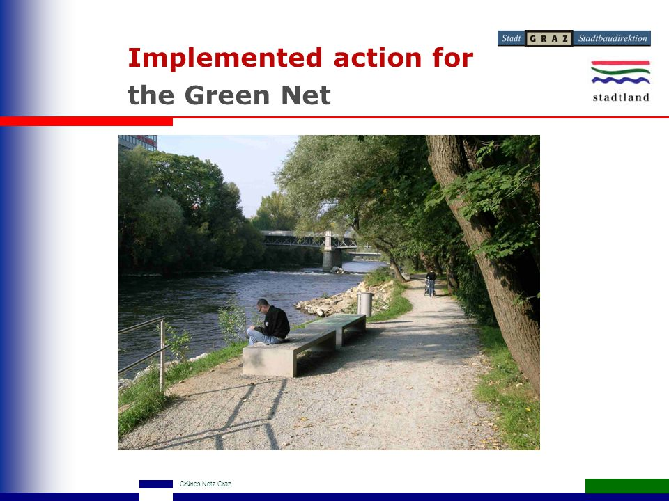 Grünes Netz Graz Implemented action for the Green Net