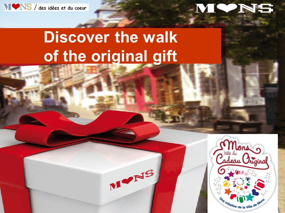 Discover the walk of the original gift