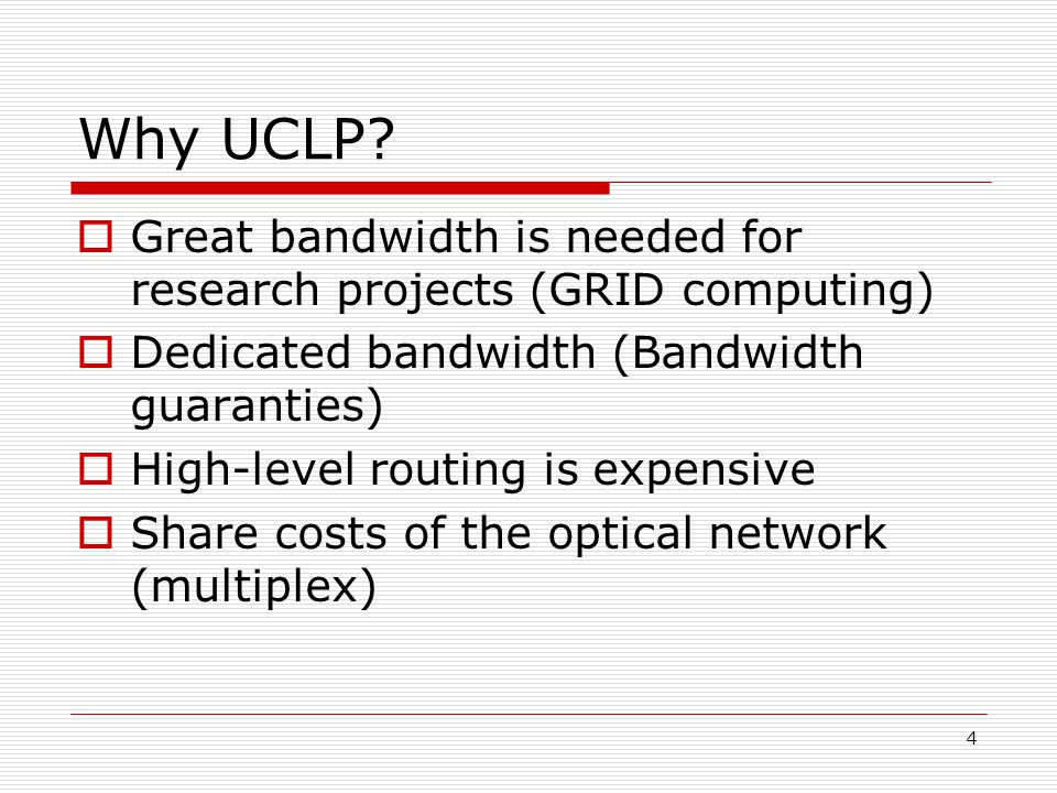 4 Why UCLP.