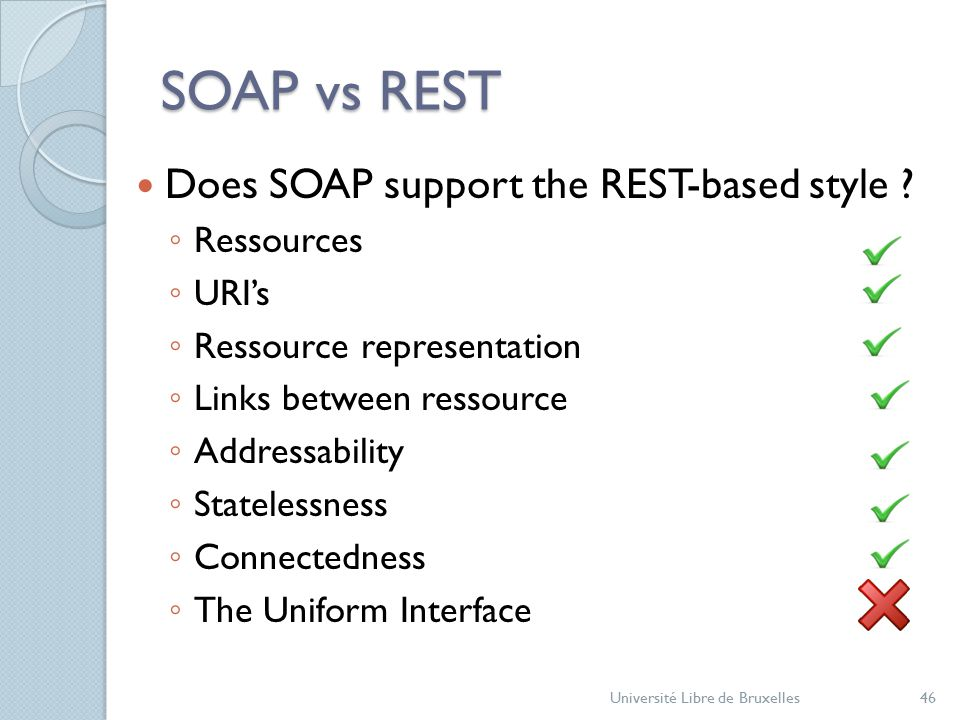 SOAP vs REST Does SOAP support the REST-based style .