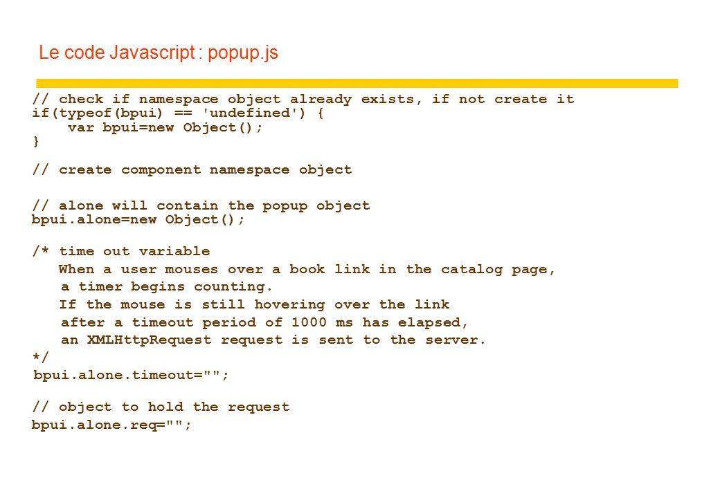 Ajax  AJAX zAsynchronous Javascript and XML zLa page n'est