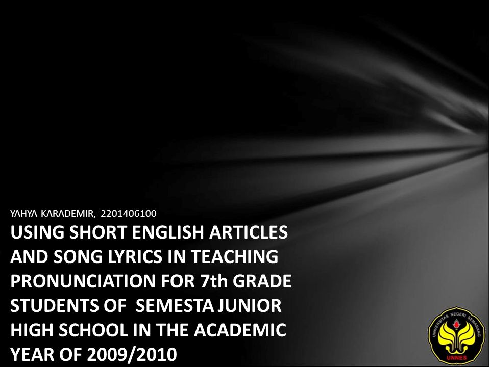 short articles for high school students
