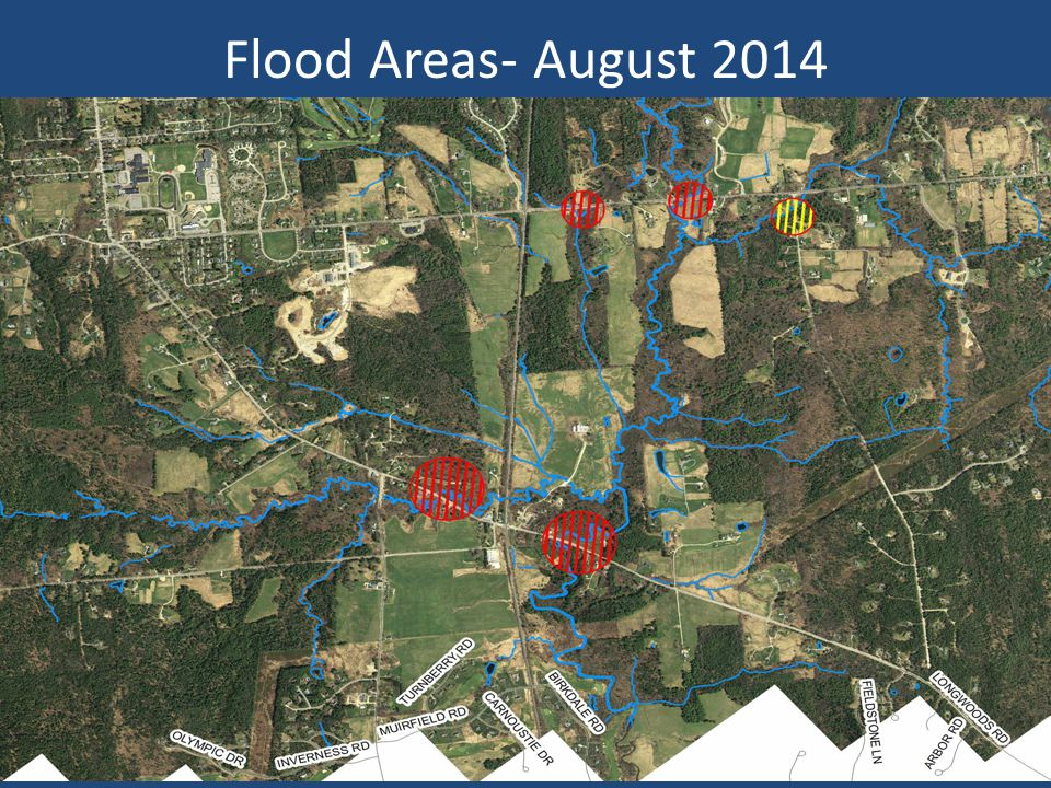 Flood Areas- August 2014