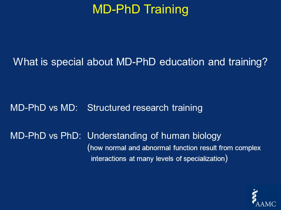 Everything you wanted to know about MD-PhD Programs but were
