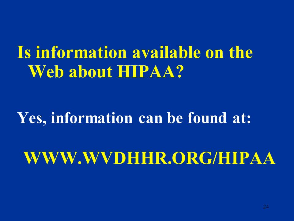 23 What are the components that have been identified by DHHS for implementation of HIPAA Administrative Simplification.