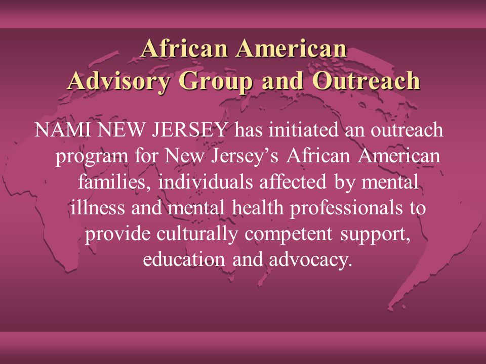 Consumer And Family Education And Support Nami New Jersey