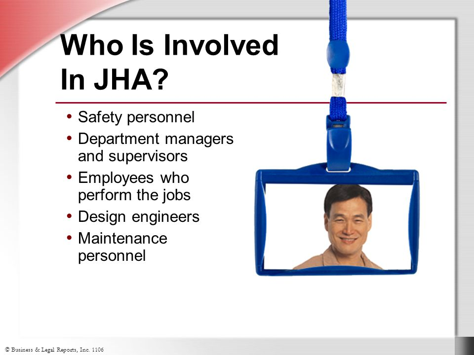 Who Is Involved In JHA.