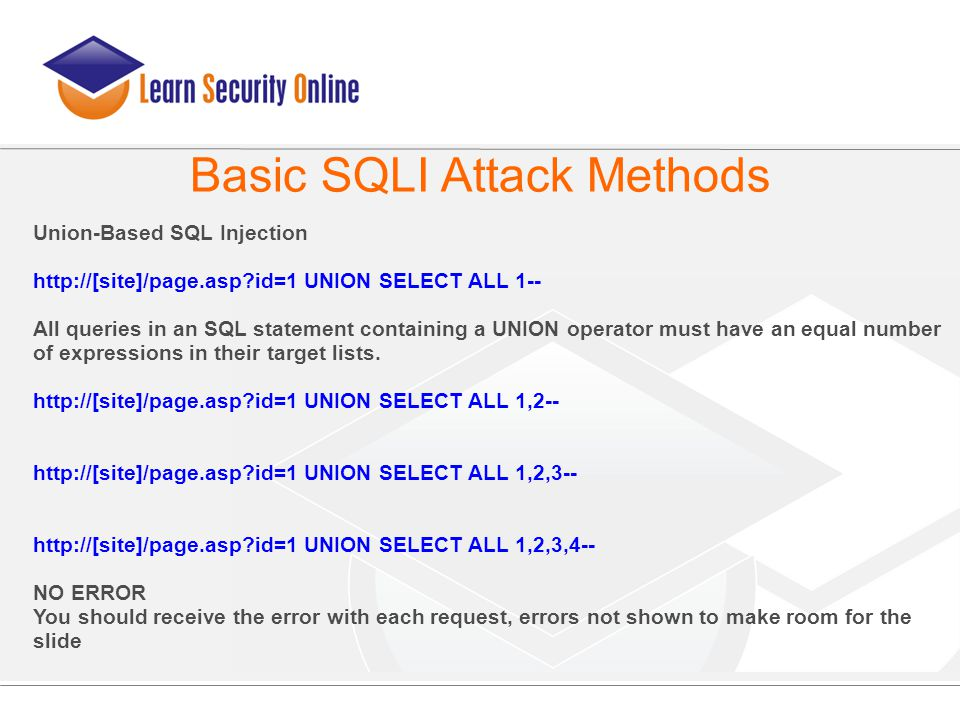 Advanced SQL Injection Presented By: Joe McCray - ppt download