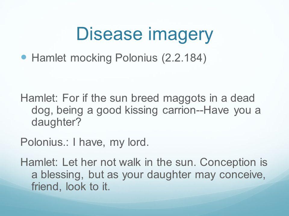 disease imagery in hamlet