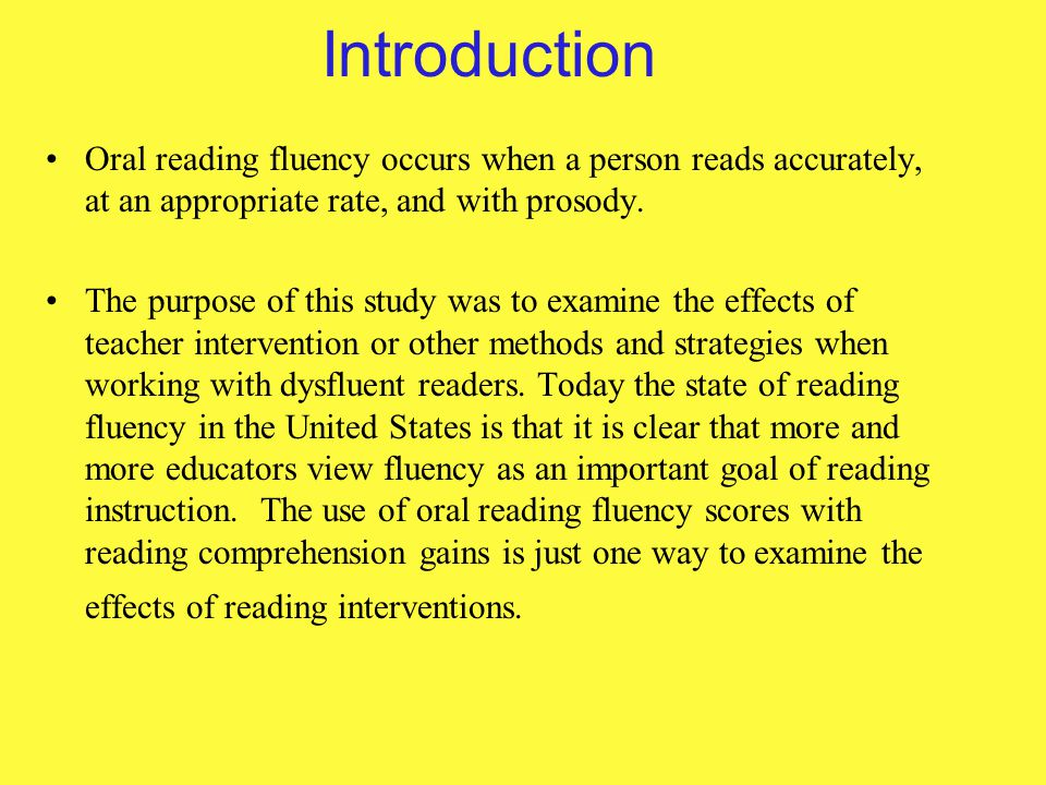 Oral reading fluency strategies photos 151
