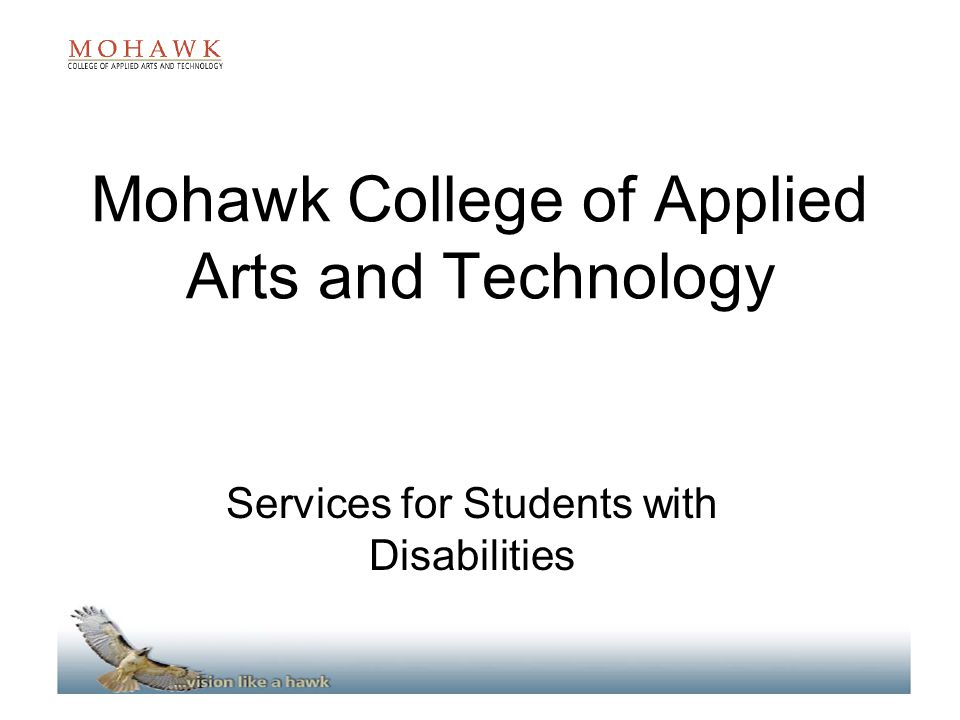 Mohawk College Of Applied Arts And Technology Services For
