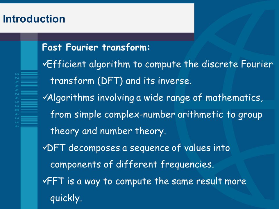 FOURIER TRANSFORMS CENG 5931: GNU RADIO Dr  George Collins