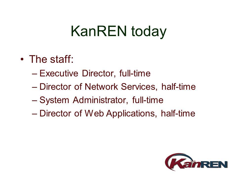 KanREN: 2001 and beyond Doug Heacock Executive Director