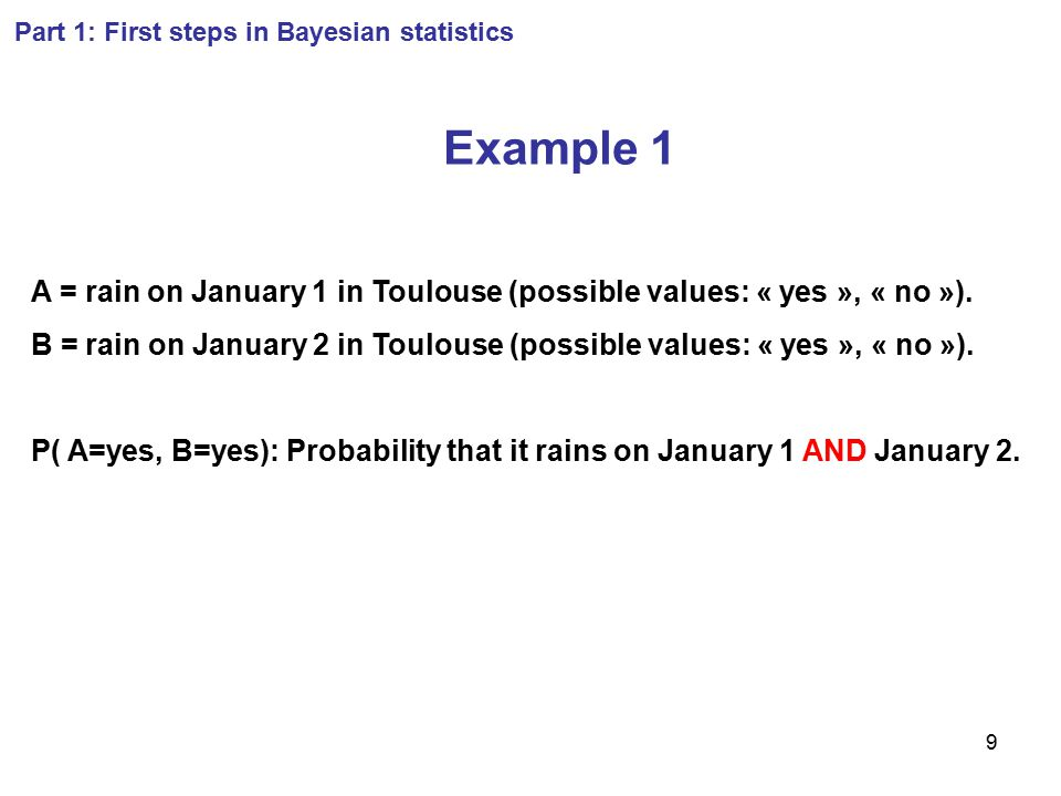 1 Bayesian methods for parameter estimation and data