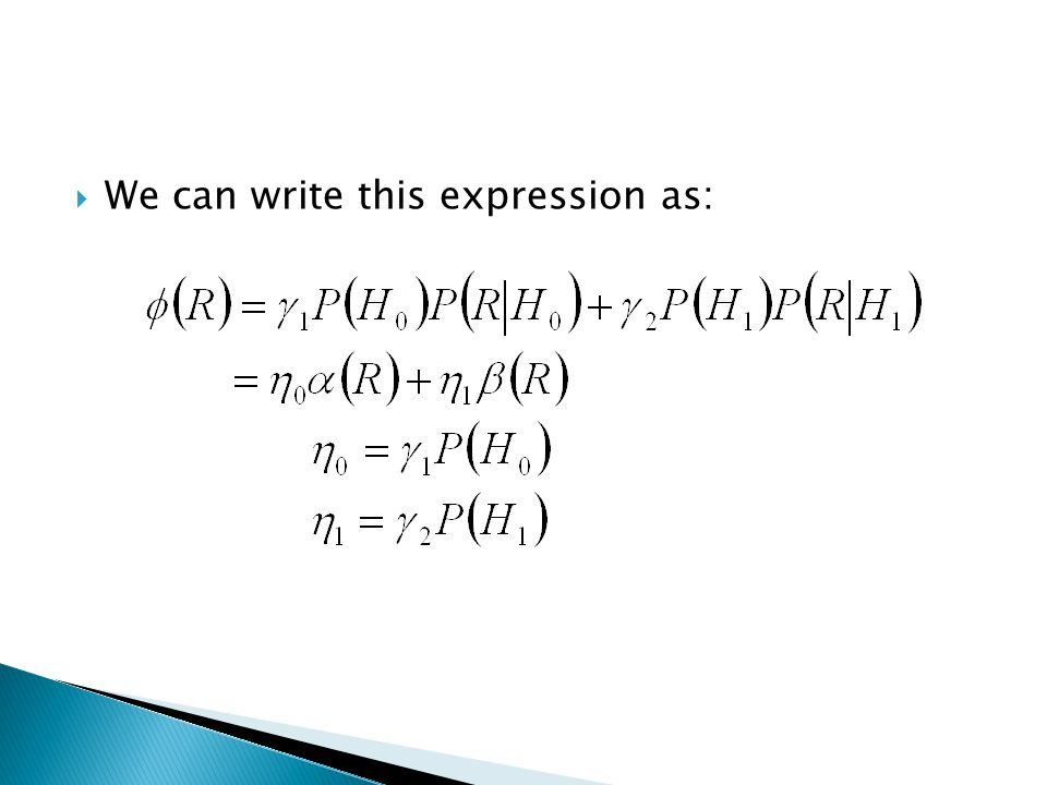 We can write this expression as: