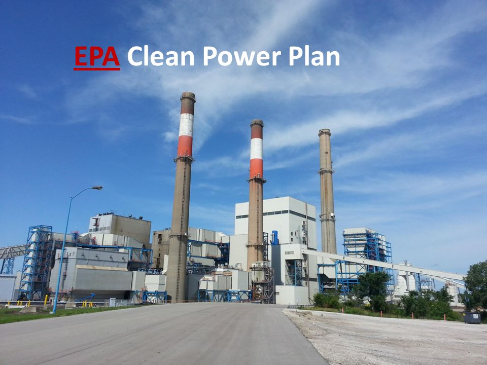 EPA Clean Power Plan