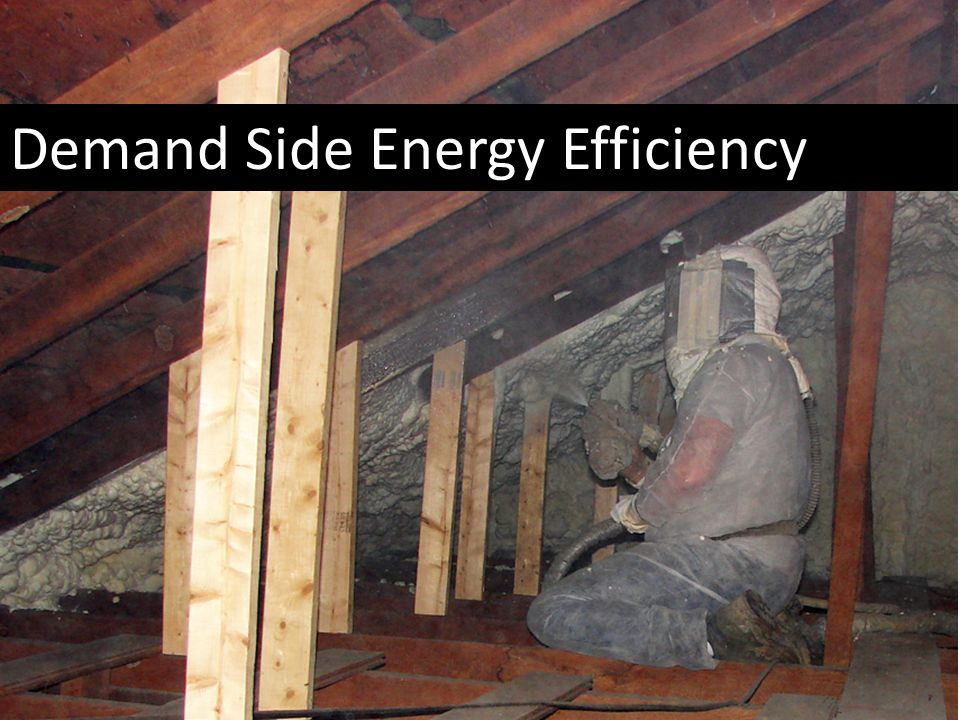Demand Side Energy Efficiency