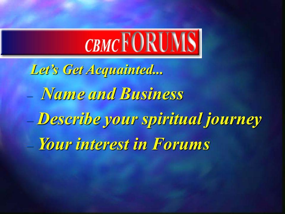 describe your spiritual journey