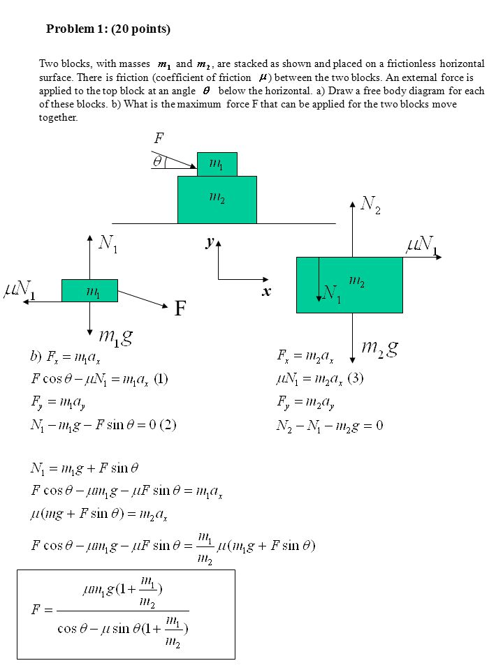 PHYSICS 218 Final Exam Fall, 2006 STEPS No calculators are
