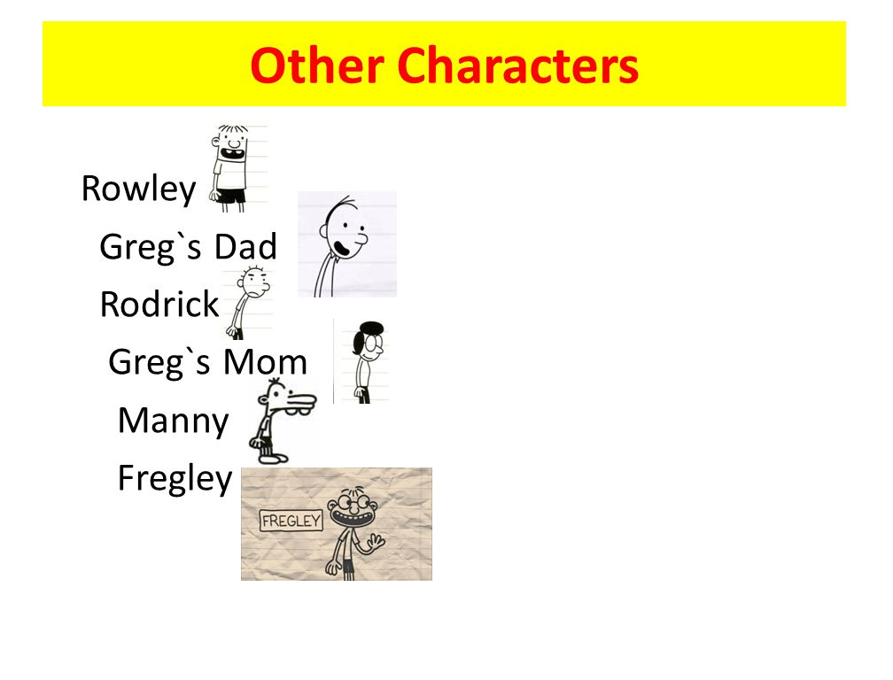 Diary of a wimpy kid 4 dog days author and illustrator jeff kinney 3 other characters rowley gregs dad rodrick gregs mom manny fregley solutioingenieria Choice Image