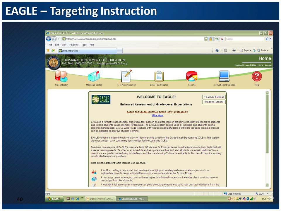EAGLE – Targeting Instruction 40 29