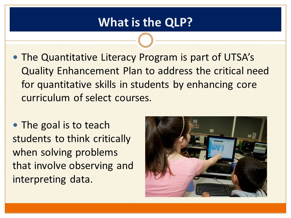 What is the QLP.