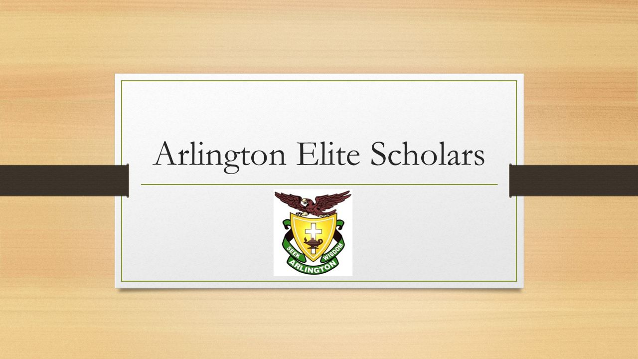 Arlington Elite Scholars