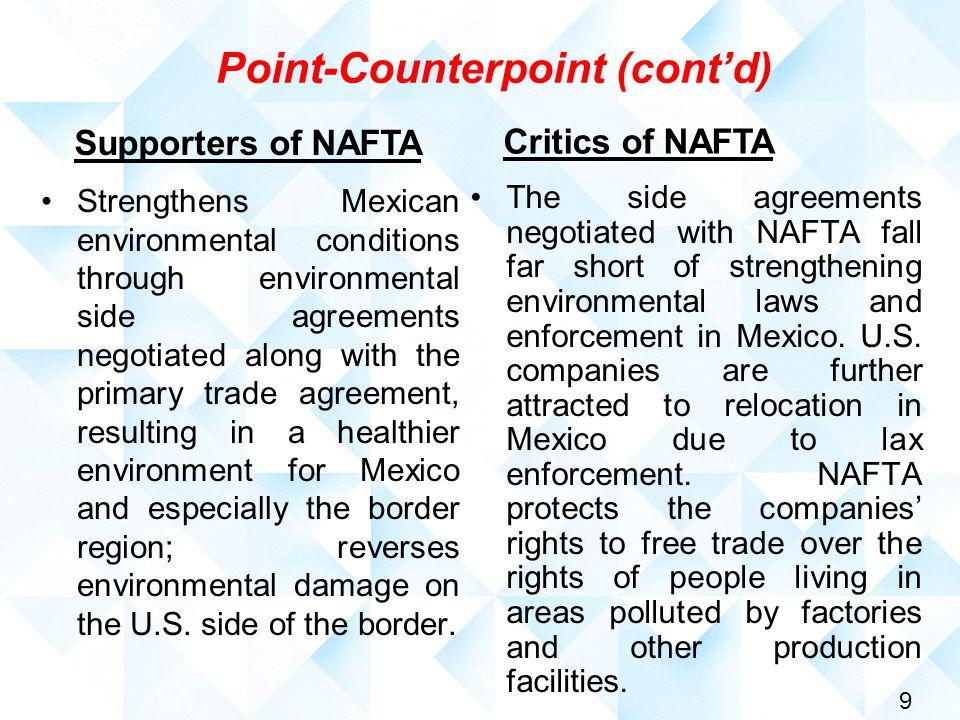 1 Free Trade And Nafta Theory Versus Reality Dennis C Mccornac Phd