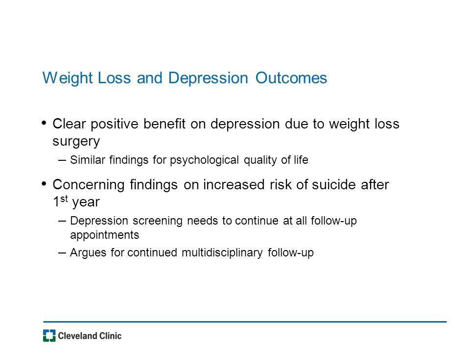 Depression and Obesity: An Update Leslie J  Heinberg, Ph D