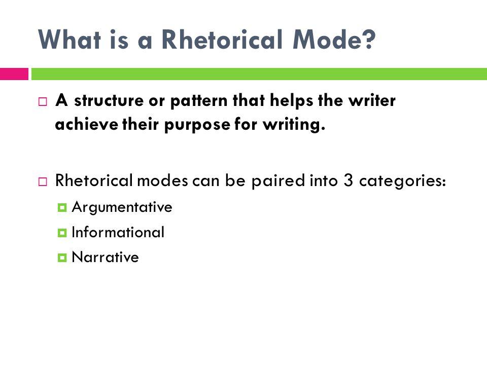 rhetorical writing definition