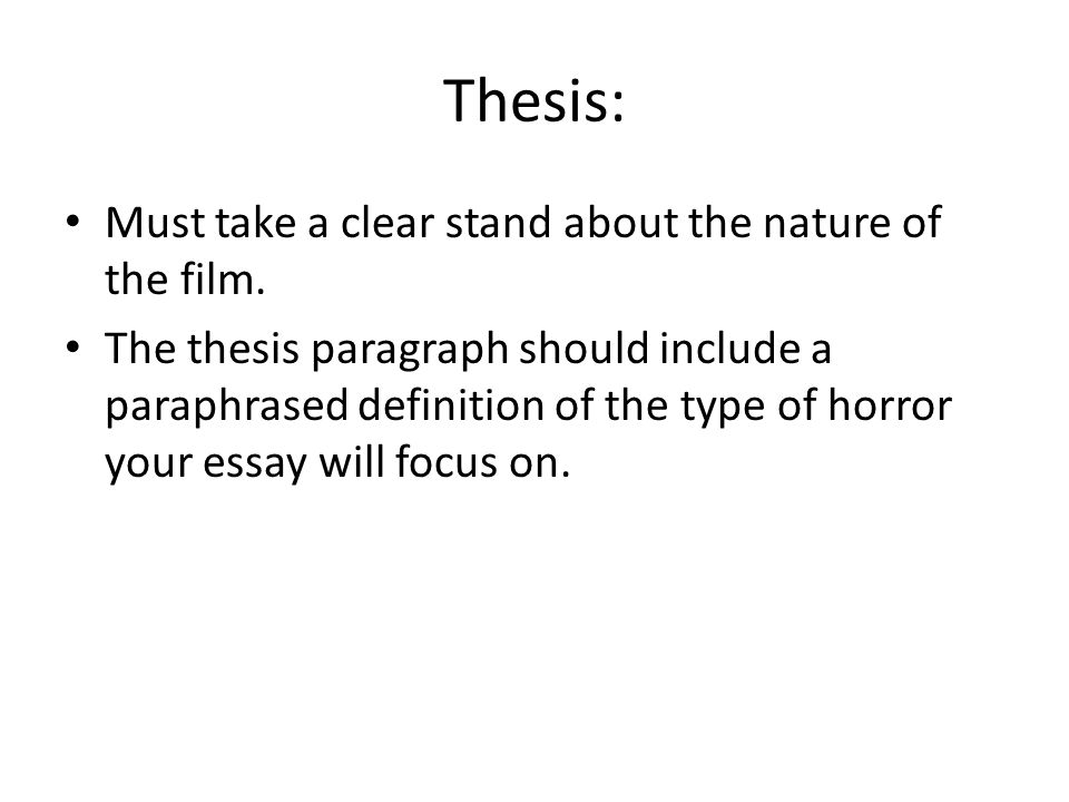 Essay  The Orphanage Definitions Cathartic Horror King Reality   Thesis  Research Essay Proposal also Writing A Business Plan Help  English Model Essays
