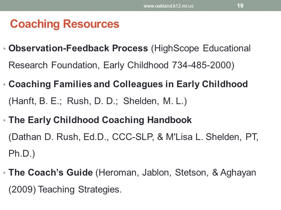 Coaching And Mentoring Gsrp Early Childhood Specialists Moving