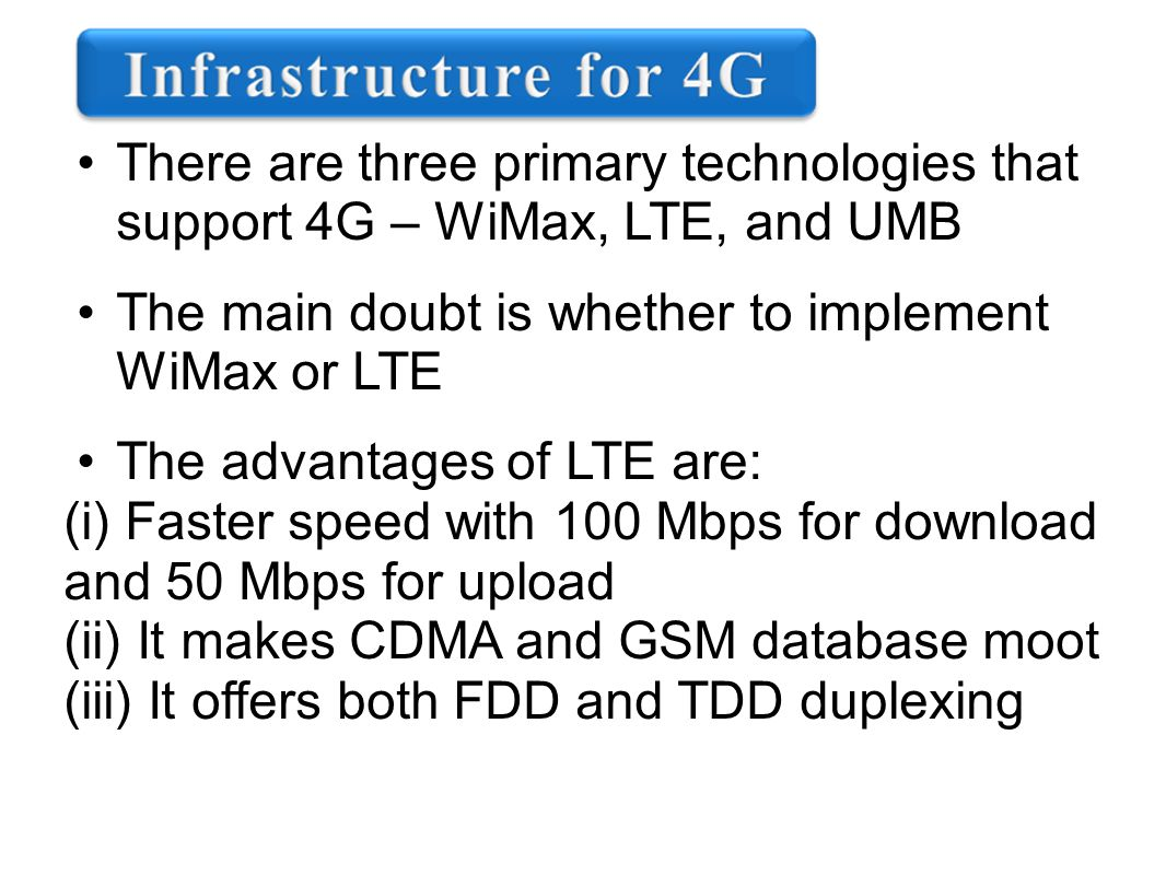 4G-TECHNOLOGY  CONTENTS Introduction What is 4G? Evolution