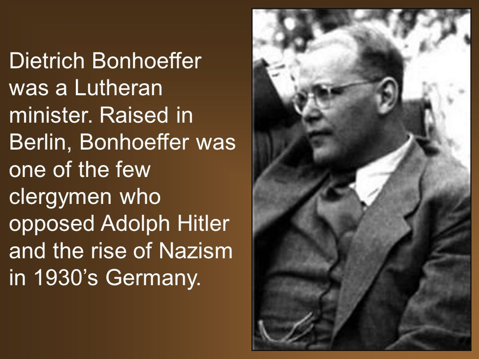Bonhoeffer Quotes Fascinating Quotes From Dietrich Bonhoeffer A Remarkable Life Dietrich