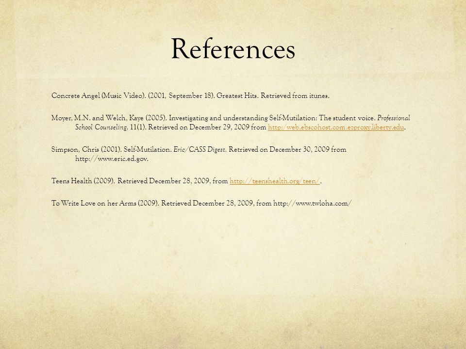 17 References ...