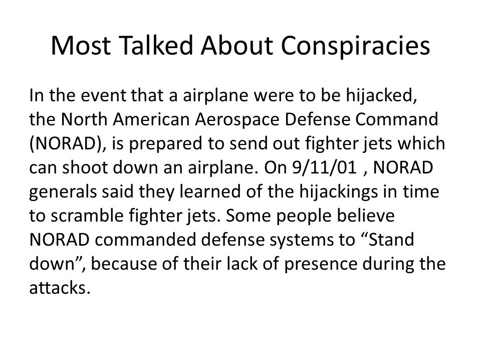 9/11 Conspiracies Josh Culora  Most Talked About