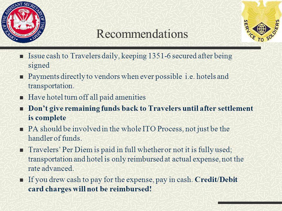 Invitational Travel Authorization Operational Support Team United
