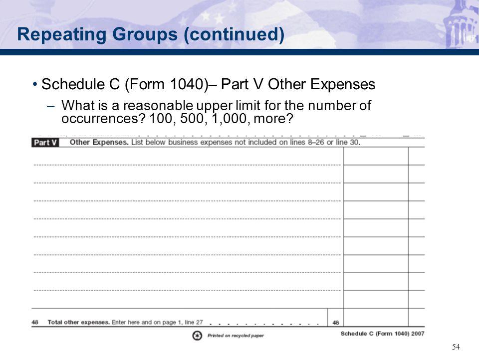 September 5 2007 Fall Fling Mef 1040 Working Group Internal Revenue