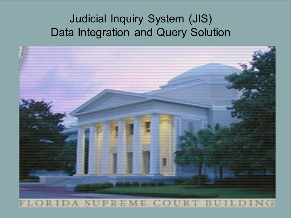 Judicial Inquiry System (JIS) Data Integration and Query Solution