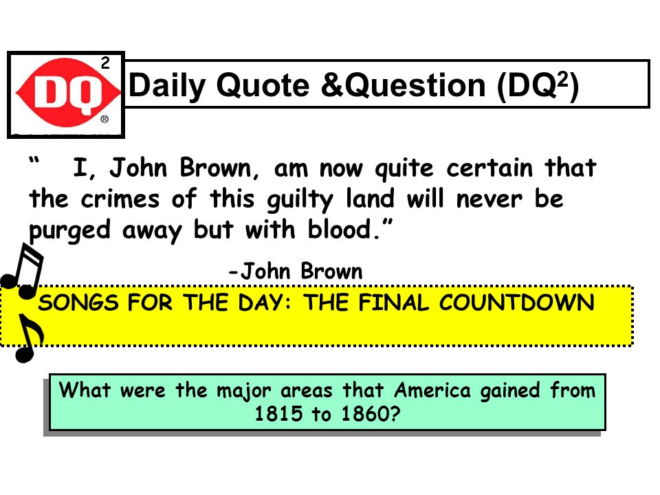 john brown dbq answers