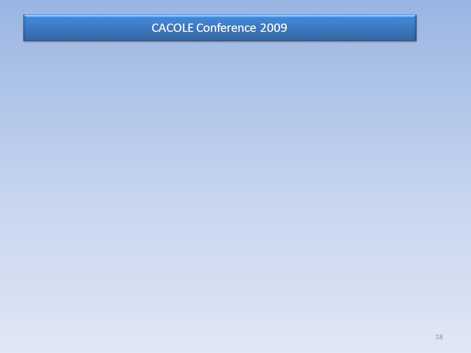CACOLE Conference