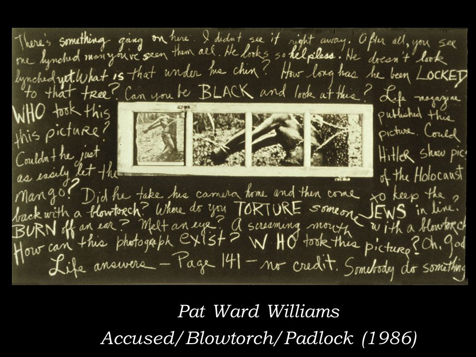 Pat Ward Williams Accused/Blowtorch/Padlock (1986)