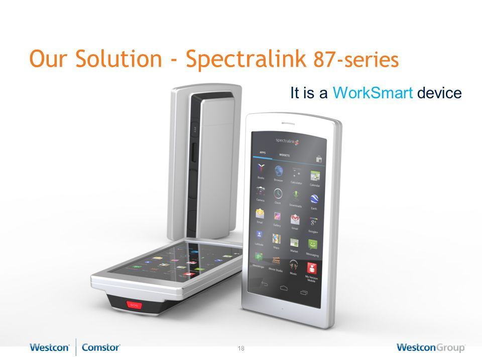 Add value and increase productivity to mobile workers  - ppt