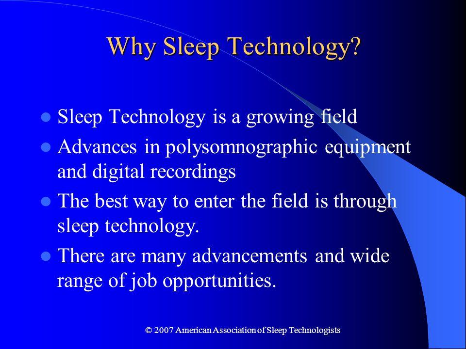 2007 American Association Of Sleep Technologists