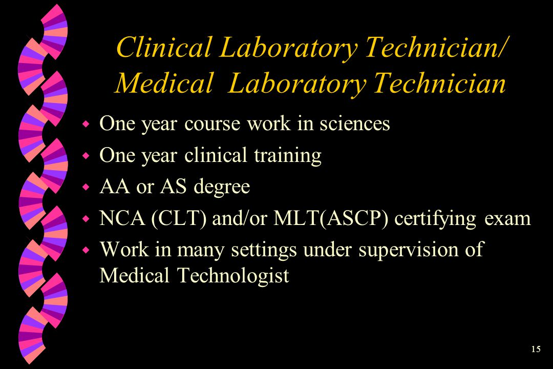 1 Clinical Laboratory Careers w Claudia Steen, M.S., Medical ...